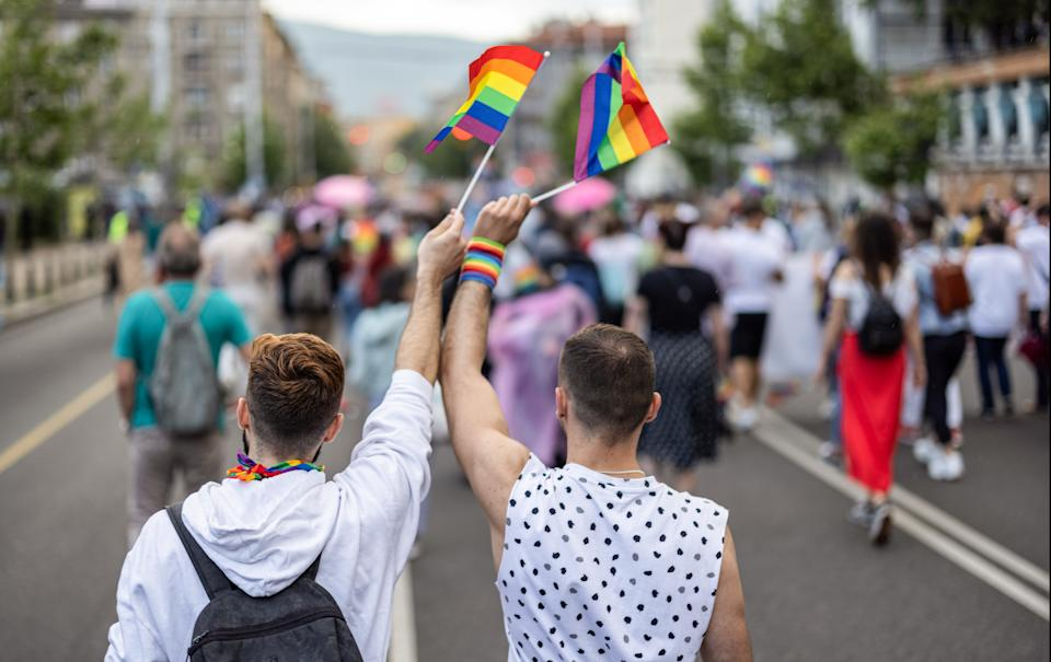 The headwinds experienced by LGBTQ members are perhaps toughest on the community's aging population, of which there's an estimated 3 million over age 50 and that number is expected to balloon to 7 million by the decade's end. (Photo: Getty)