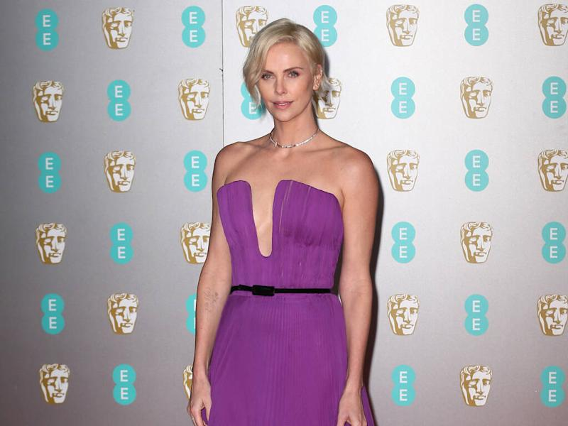 Charlize Theron 'instantly fell in love' with BAFTAs gown