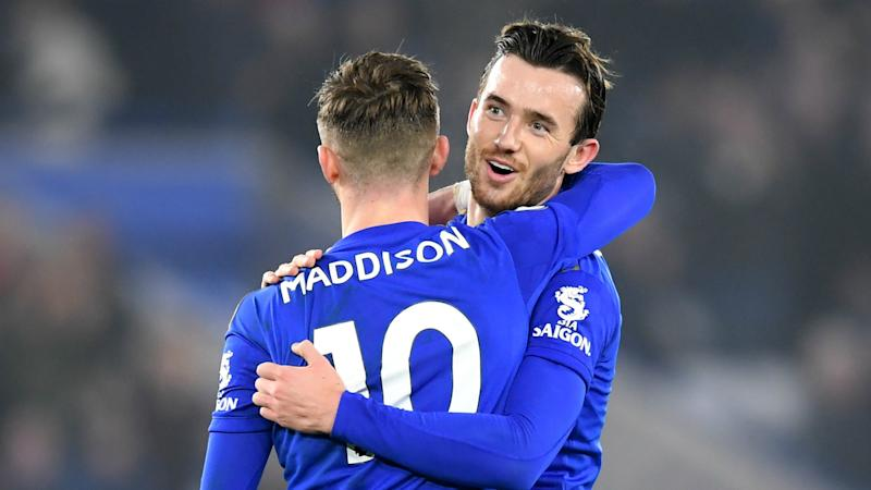 Leicester duo Maddison and Chilwell 'big doubts' to face Arsenal, confirms Rodgers