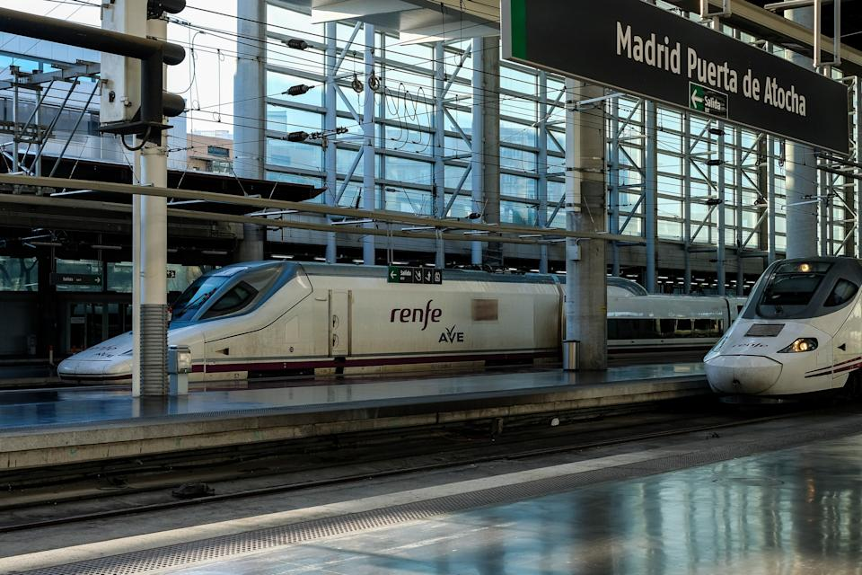 La alta velocidad ferroviaria está muy implantada en España. (Photo by Europa Press News/Europa Press via Getty Images)