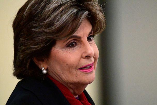 PHOTO: Attorney Gloria Allred talks outside courtroom waiting for the Bill Cosby sexual assault trial to begin at the Montgomery County Courthouse, on April 25, 2018, in Norristown, Penn. (Pool/Getty Images, FILE)