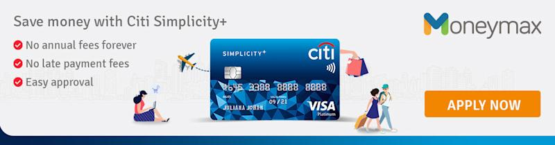 No annual fees forever with Citi Simplicity!