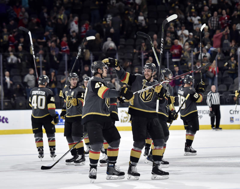 Brawl at Vegas Golden Knights hockey game caught on camera