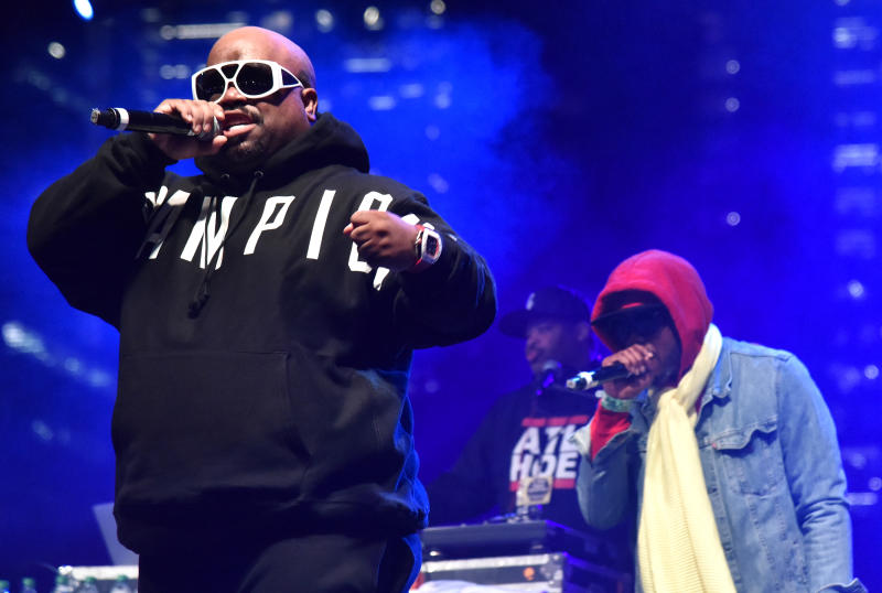 AUSTIN, TEXAS - MARCH 15: CeeLo Green and the Goodie Mob perform with Dungeon Family during the 2019 SXSW Conference and Festival at Auditorium Shores on March 15, 2019 in Austin, Texas. (Photo by Tim Mosenfelder/Getty Images)