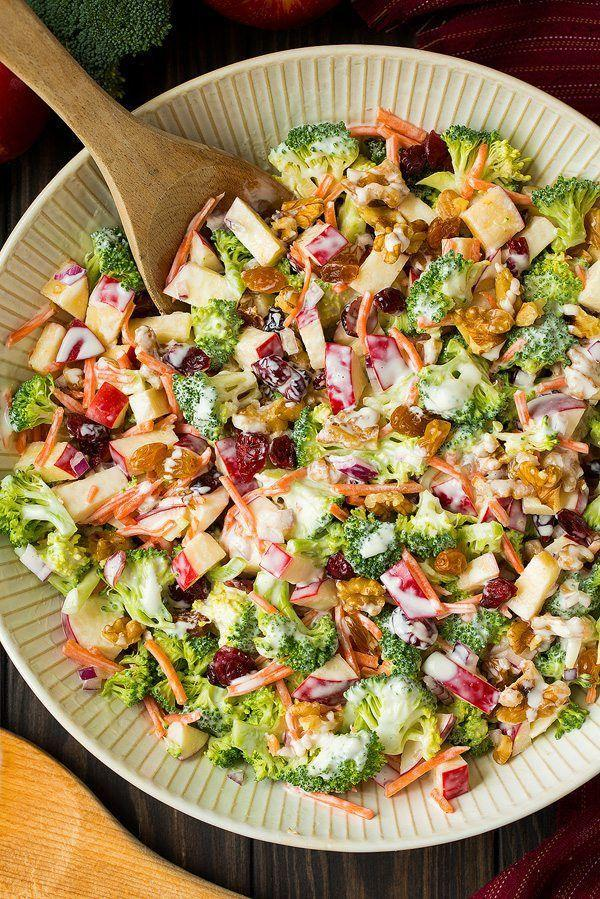"<p>This flavorful side is filled with walnuts, cranberries, and a homemade dressing.</p><p><strong>Get the recipe at <a href=""https://www.cookingclassy.com/broccoli-apple-salad/"" rel=""nofollow noopener"" target=""_blank"" data-ylk=""slk:Cooking Classy"" class=""link rapid-noclick-resp"">Cooking Classy</a>.</strong></p><p><a class=""link rapid-noclick-resp"" href=""https://www.amazon.com/Lipper-International-1188-Acacia-Servers/dp/B008EQAMNC?tag=syn-yahoo-20&ascsubtag=%5Bartid%7C10050.g.650%5Bsrc%7Cyahoo-us"" rel=""nofollow noopener"" target=""_blank"" data-ylk=""slk:SHOP SALAD SERVERS"">SHOP SALAD SERVERS</a></p>"