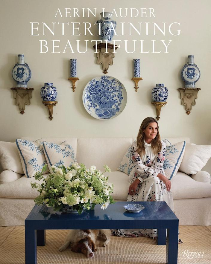 "$55, Amazon. <a href=""https://www.amazon.com/Entertaining-Beautifully-Aerin-Lauder/dp/0847867528"" rel=""nofollow noopener"" target=""_blank"" data-ylk=""slk:Get it now!"" class=""link rapid-noclick-resp"">Get it now!</a>"