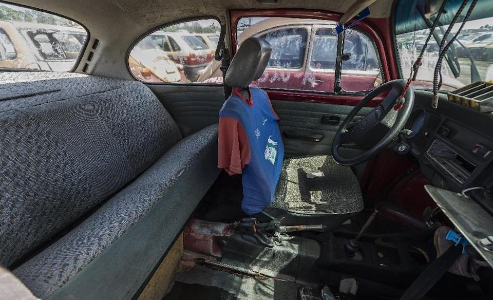 The Beetle's demise came as passengers preferred newer, safer and more comfortable rides and the last model was built in 2003 in Puebla, Mexico (AFP Photo/Omar Torres )