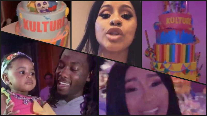 Cardi B Welcomes A Daughter With Rapper Offset: Cardi B Celebrates Daughter Kulture's 1st Birthday Despite