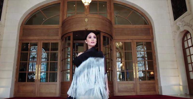 1939212ad33 Heart Evangelista featured in  real Crazy Rich Asians  video by Harper s  Bazaar