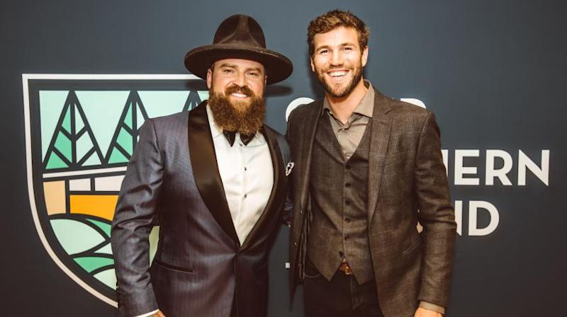 Zac Brown and Austin Stowell