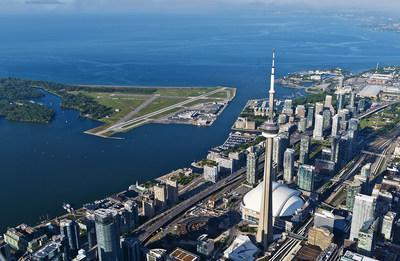Billy Bishop Airport will resume commercial air service on September 8, 2021 (CNW Group / Billy Bishop Toronto City Airport)