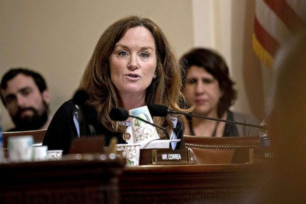 PHOTO: Representative Kathleen Rice, a Democrat from New York, questions witnesses during a House Homeland Security Subcommittee hearing in Washington, D.C., March 11, 2020. (Bloomberg via Getty Images, FILE)