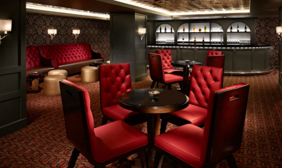 The Speakeasy whisks patrons back to the 1920s (Omni Hotels)