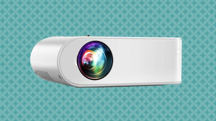 Ditch the TV and think big with a digital projector. (Photo: Amazon)