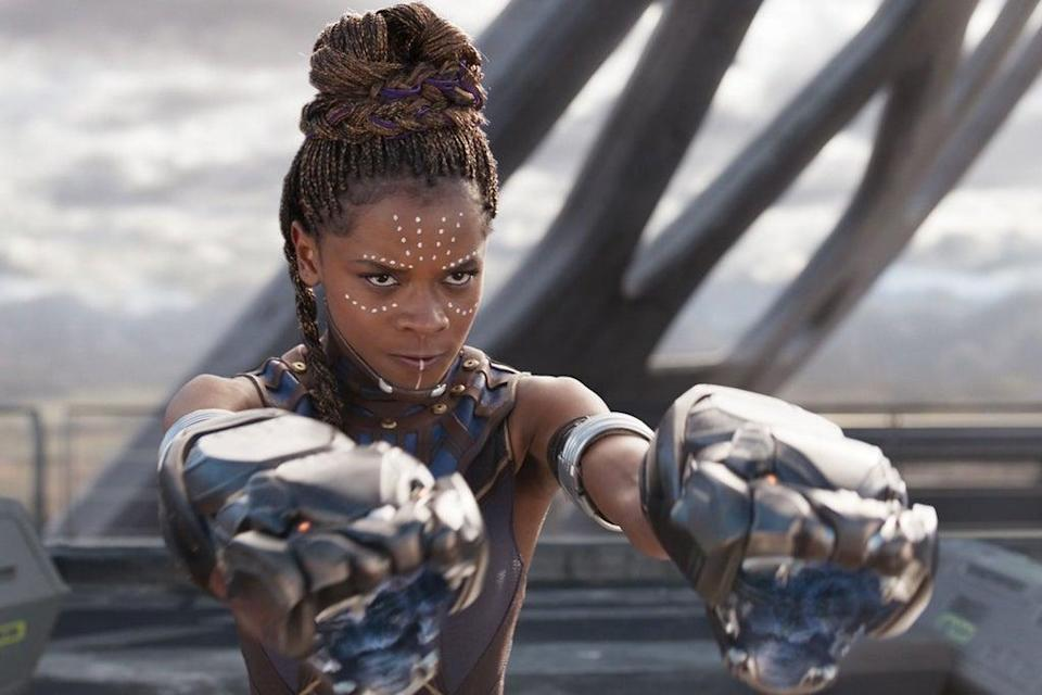 Letitia Wright was injured during filming   (Marvel Studios)