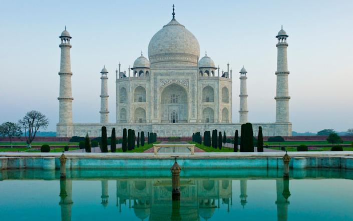 Taj Mahal, India has been closed since mid-March