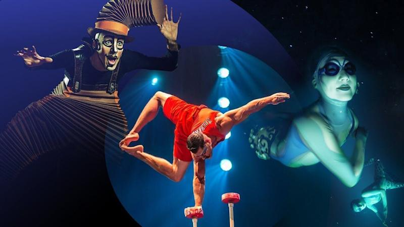 Espectáculo del Circo del Sol. (Photo: EFE)