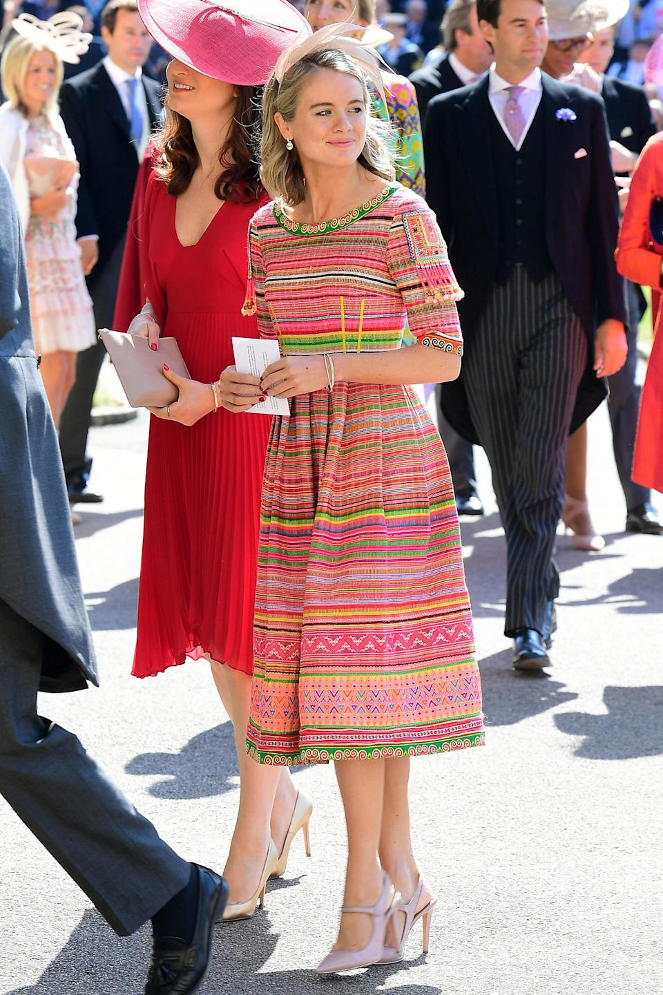 <p>Another of Prince Harry's former girlfriends, Cressida is an English actress and model and the daughter of Lady Mary-Gaye Curzon. <em>[Photo: PA]</em> </p>