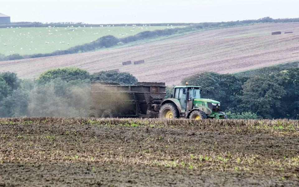 Farms are often responsible for polluting rivers with slurry and pesticides  - © Jeremy Roe / SWNS.com