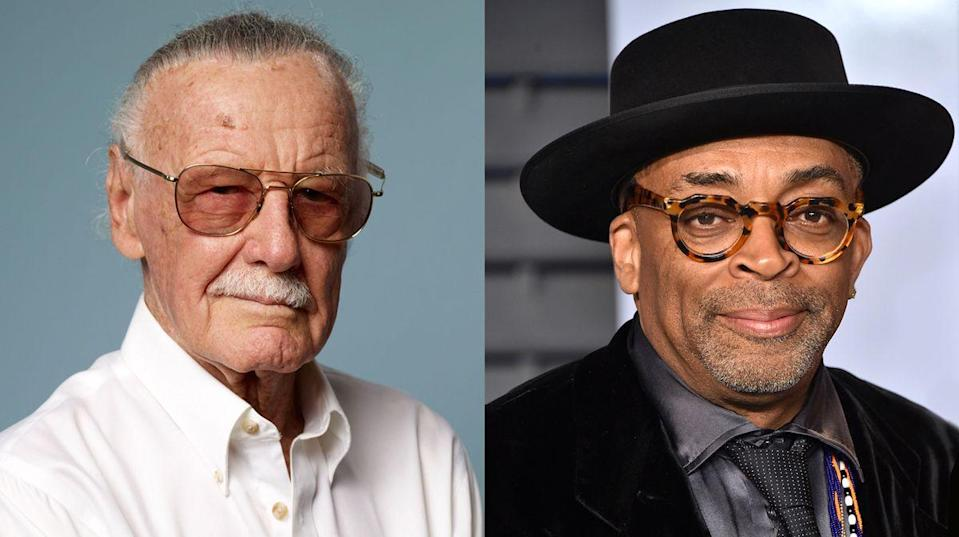 Stan Lee and Spike Lee (Credit: Getty Images)