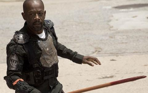 Lennie James as Morgan - Credit: AMC