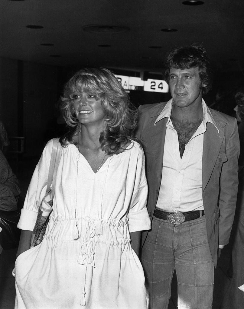 "<p><em>Charlie's Angels </em>star Farrah Fawcett wed Lee Majors in 1973 and they <a href=""http://www.usmagazine.com/celebrity-news/news/farrah-fawcett-reunited-with-ex-lee-majors-before-death-2009306"" rel=""nofollow noopener"" target=""_blank"" data-ylk=""slk:were married"" class=""link rapid-noclick-resp"">were married</a> for nine years before separating in 1982. After almost two decades of silence, the pair reconnected shortly before Fawcett's death in 2009. </p>"