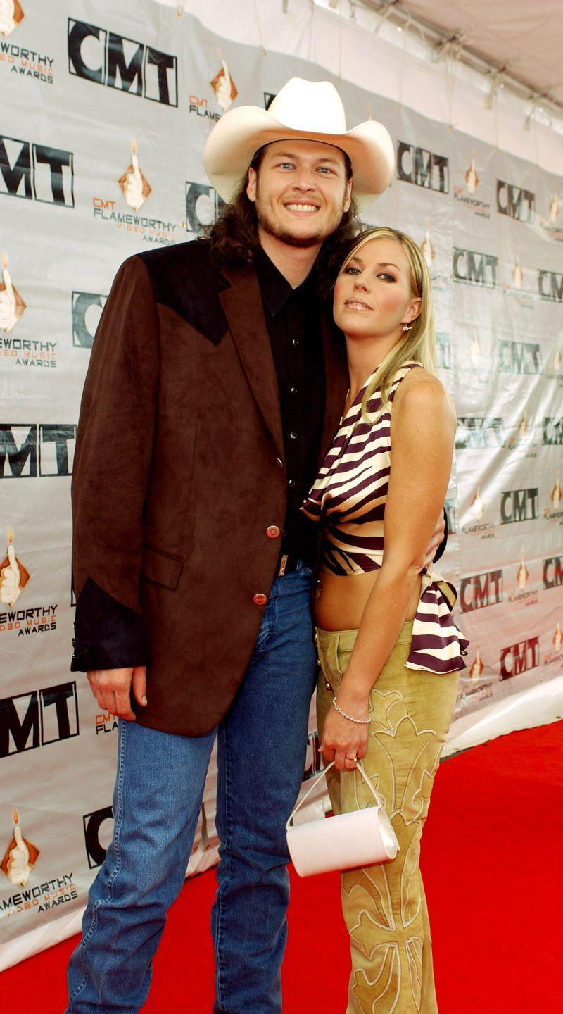 """<p>Blake Shelton made headlines for his 2015 divorce from Miranda Lambert and even bigger headlines when he proposed to Gwen Stefani in 2020. But the country singer was married before both public relationships. He said """"I do"""" to his high school sweetheart at the start of his fame in 2003. They were married for three years before Williams <a href=""""https://countryfancast.com/kaynette-williams/"""" rel=""""nofollow noopener"""" target=""""_blank"""" data-ylk=""""slk:filed for divorce"""" class=""""link rapid-noclick-resp"""">filed for divorce</a> and moved back to Oklahoma. </p>"""