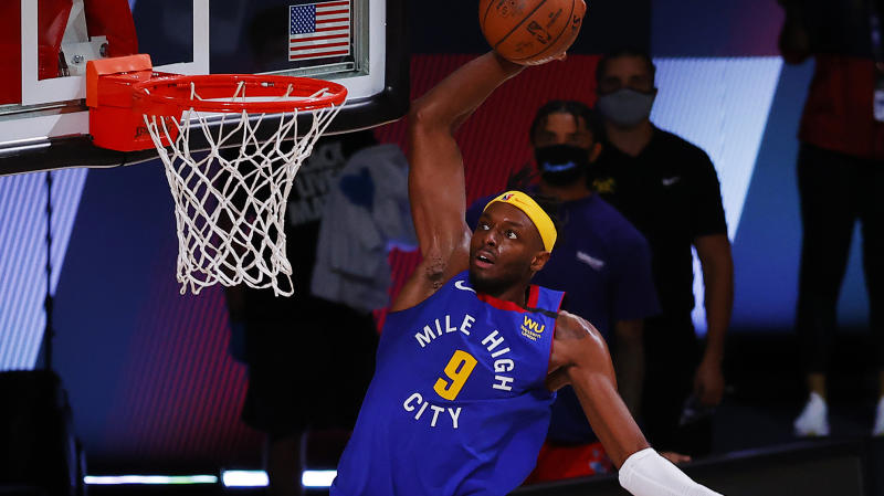 Jerami Grant goes off as Nuggets win Game 3
