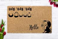 <p>The <span>Adele Hello NSYNC Bye Bye Bye Doormat</span> ($15, originally $25+) is a must-have for the punny pop culture fiend.</p>
