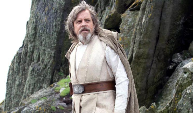 Mark Hamill as Luke Skywalker in Star Wars 7 - Credit: Lucasfilm