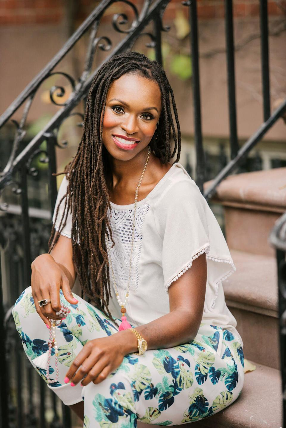 Latham Thomas is a celebrity wellness and lifestyle expert who is passionate about helping women embrace optimal health and spiritual growth. She also was named one of Oprah Winfrey's SuperSoul 100 and has a new book focusing on enriching your inner glow coming in September. (Photo: Latham Thomas)