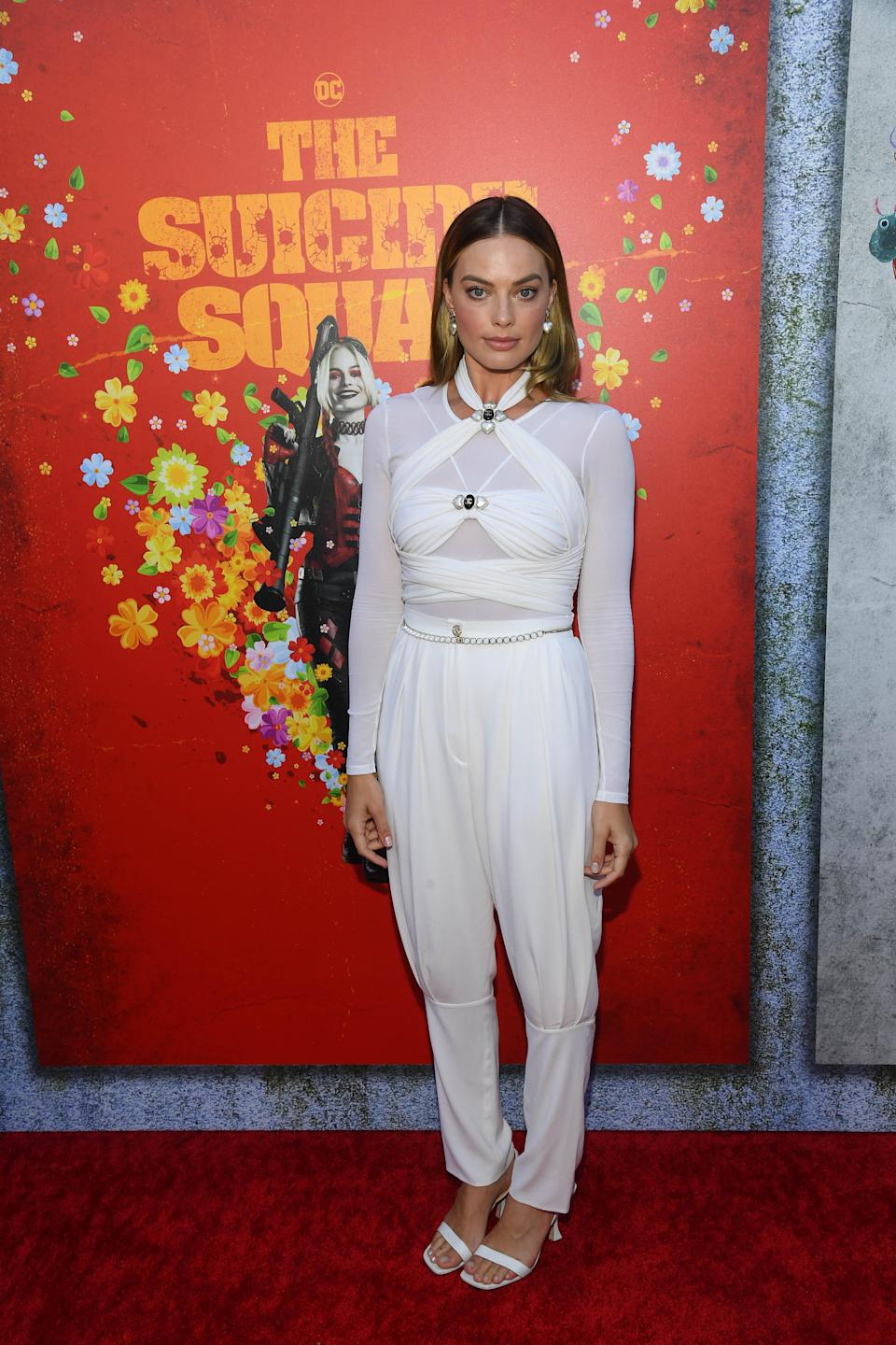 """Margot Robbie attends the """"Suicide Squad"""" premiere in Los Angeles. - Credit: Michael Buckner for PMC"""