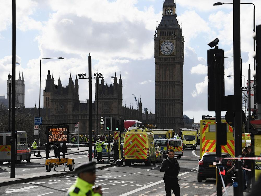 Two boxing teams were at the House of Commons when the Westminster attack happened: Getty