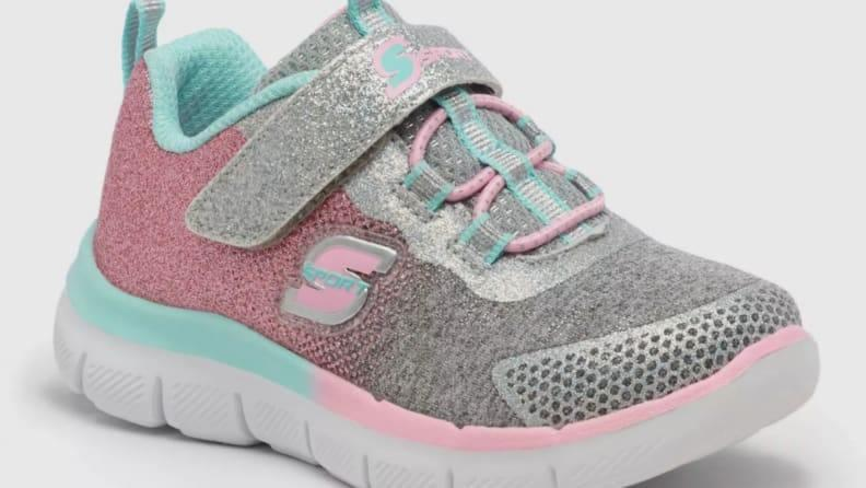 Skechers makes fun, flashy shoes that are well-structured.