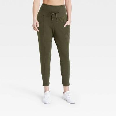 <p>These <span>All in Motion High-Rise Ribbed Jogger Pants</span> ($20) are pants you can wear anywhere and everywhere.</p>