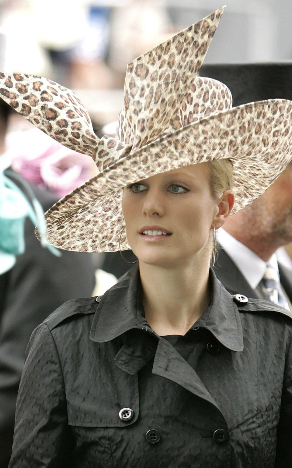 Zara Phillips Attends Ladies Day At The 2007 Royal Ascot - Mark Cuthbert