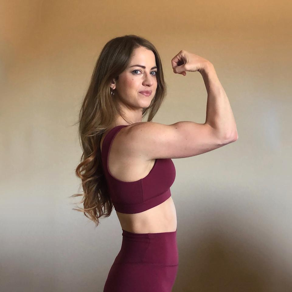 """<p>NASM-certified personal trainer Jenna Marie knows how intimidating the weight room can seem for women. When she started weightlifting, she admits, she was """"initially terrified,"""" but then she found a love for it and how strong it makes her feel. Now, Jenna is spreading her love for lifting to women everywhere through her <a href=""""https://glow.popsugar.com/@jennamarie.fit/product/lift-love-full-body-training-guide-aL4zzSysjn?utm_source=popsugar.com&amp;utm_medium=editorial&amp;utm_campaign=newseller-october-post"""" class=""""ga-track"""" data-ga-category=""""Related"""" data-ga-label=""""https://glow.popsugar.com/@jennamarie.fit/product/lift-love-full-body-training-guide-aL4zzSysjn?utm_source=popsugar.com&amp;utm_medium=editorial&amp;utm_campaign=newseller-october-post"""" data-ga-action=""""In-Line Links"""">Lift &amp; Love 8-Week Full Body Training Guide</a>, featuring workouts designed to help you feel confident in the weight room and in your body. You can find her guide in <a href=""""https://glow.popsugar.com/@jennamarie.fit?utm_source=popsugar.com&amp;utm_medium=editorial&amp;utm_campaign=newseller-october-post"""" class=""""ga-track"""" data-ga-category=""""Related"""" data-ga-label=""""https://glow.popsugar.com/@jennamarie.fit?utm_source=popsugar.com&amp;utm_medium=editorial&amp;utm_campaign=newseller-october-post"""" data-ga-action=""""In-Line Links"""">her shop on Glow</a>.</p>"""