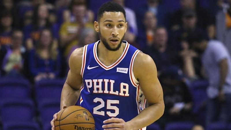 A shoulder injury will force Philadelphia's Ben Simmons to miss at the least one NBA game