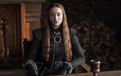 Sansa Stark in Game of Thrones - Credit:  HELEN SLOAN / HBO