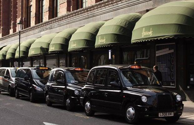 Workers at the troubled maker of London black cabs have secured talks with company bosses following a sit-in protest after being told of job losses: Getty Images