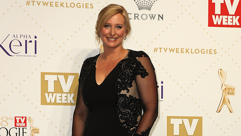 Johanna Griggs has stepped down from hosting House Rules. Photo: Getty