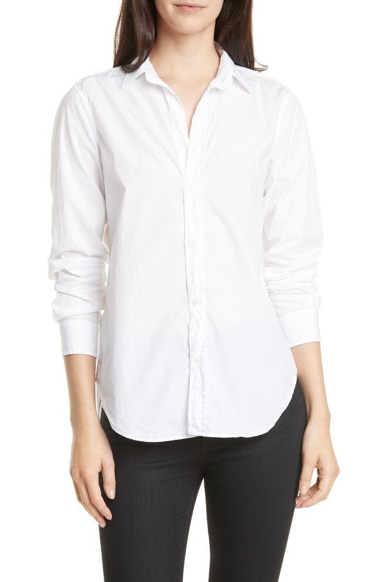 <p>You can't go wrong with this <span>Frank and Eileen Frank Superfine Cotton Shirt</span> ($238).</p>