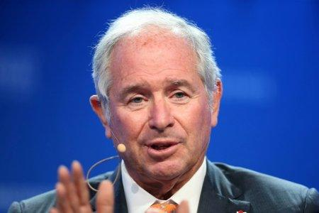 FILE PHOTO: Stephen Schwarzman, Chairman, CEO and co-founder of Blackstone, speaks during the Milken Institute Global Conference in Beverly Hills, California, U.S., May 2, 2017. REUTERS/Lucy Nicholson/File Photo