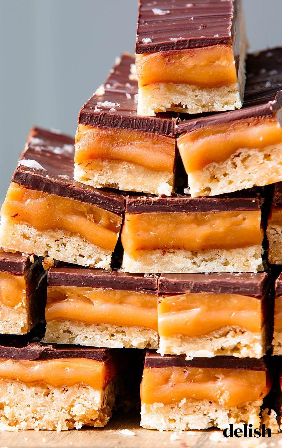 """<p>Treat your friends like a million bucks and gift them these sweet bars. </p><p>Get the recipe from <a href=""""https://www.delish.com/cooking/a25781497/millionaire-shortbread-recipe/"""" rel=""""nofollow noopener"""" target=""""_blank"""" data-ylk=""""slk:Delish"""" class=""""link rapid-noclick-resp"""">Delish</a>. </p>"""