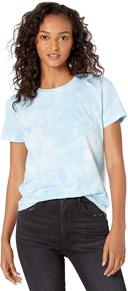 "<p>This <a href=""https://www.popsugar.com/buy/Drop-Courtney-Short-Sleeve-T-Shirt-578111?p_name=The%20Drop%20Courtney%20Short-Sleeve%20T-Shirt&retailer=amazon.com&pid=578111&price=20&evar1=fab%3Aus&evar9=24029131&evar98=https%3A%2F%2Fwww.popsugar.com%2Fphoto-gallery%2F24029131%2Fimage%2F47575239%2FDrop-Courtney-Short-Sleeve-T-Shirt&list1=shopping%2Csummer%20fashion%2Cfashion%20shopping%2Cunder%20%24100&prop13=api&pdata=1"" rel=""nofollow"" data-shoppable-link=""1"" target=""_blank"" class=""ga-track"" data-ga-category=""Related"" data-ga-label=""https://www.amazon.com/Drop-Womens-Courtney-Sleeve-T-Shirt/dp/B07YWZTD3W/ref=sr_1_2?crid=R90O0N51MP0L&amp;dchild=1&amp;keywords=the%2Bdrop%2Btie%2Bdye&amp;qid=1590698202&amp;sprefix=the%2Bdrop%2B%2Caps%2C215&amp;sr=8-2&amp;th=1"" data-ga-action=""In-Line Links"">The Drop Courtney Short-Sleeve T-Shirt</a> ($20) comes in a few colors.</p>"
