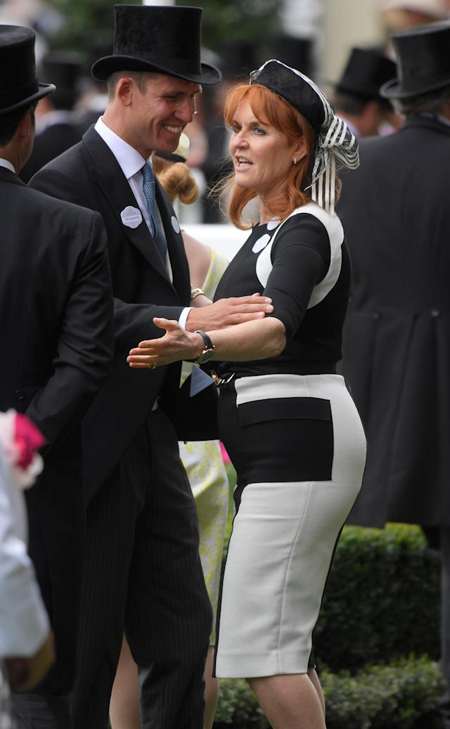 Horse Racing - Royal Ascot - Ascot Racecourse, Ascot, Britain - June 23, 2017 Duchess of York Sarah Ferguson REUTERS/Toby Melville