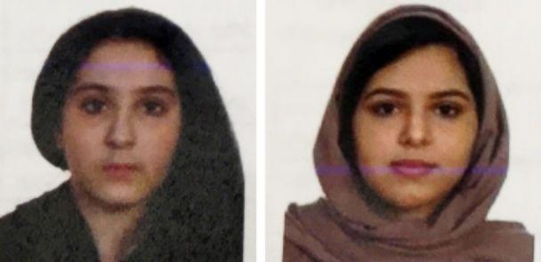 PHOTO: Tala Farea and Rotana Farea are seen in these undated photos released by the New York Police Department. (NYPD)