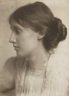 Photograph of Virginia Woolf.