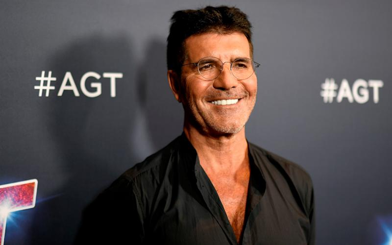 Simon Cowell photographed last year - Getty