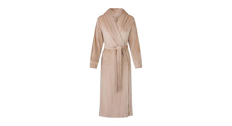 Velour Long Robe
